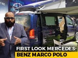 Video: Mercedes-Benz V-Class Marco Polo Launched