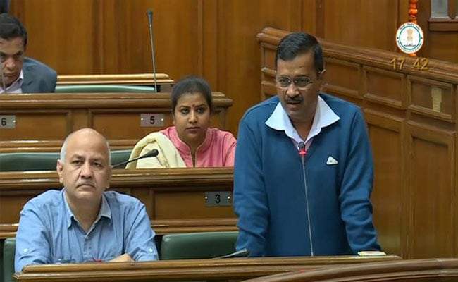 'Rioters Are From Outside,' Says Arvind Kejriwal On Delhi Violence