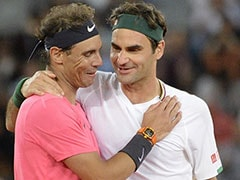 Roger Federer, Rafael Nadal Play To Record Crowd In Cape Town