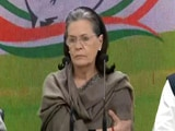"Video : ""Where Was Amit Shah? He Must Resign"": Sonia Gandhi On Delhi Violence"
