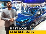 Tata Altroz EV First Look