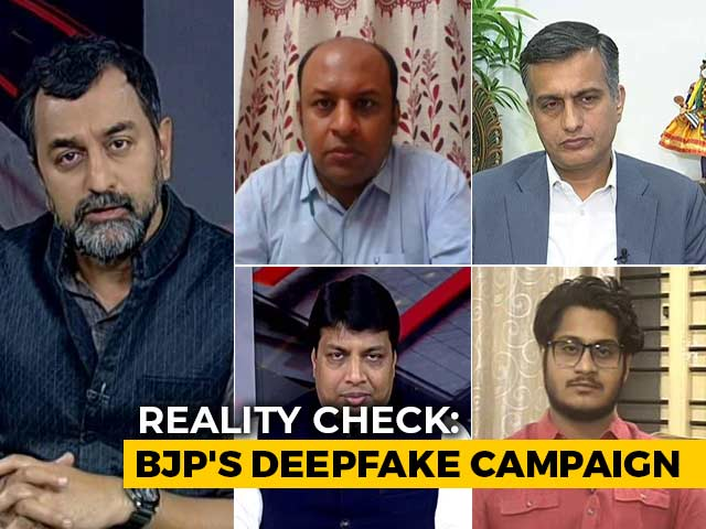 Video : Reality Check: Deepfake Videos In Delhi Elections?