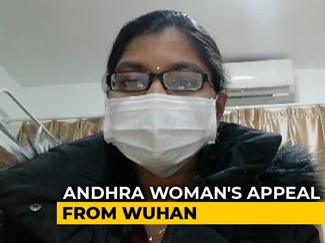 Video : From Wuhan, Andhra Woman, Who Is To Wed This Month Appeals For Evacuation