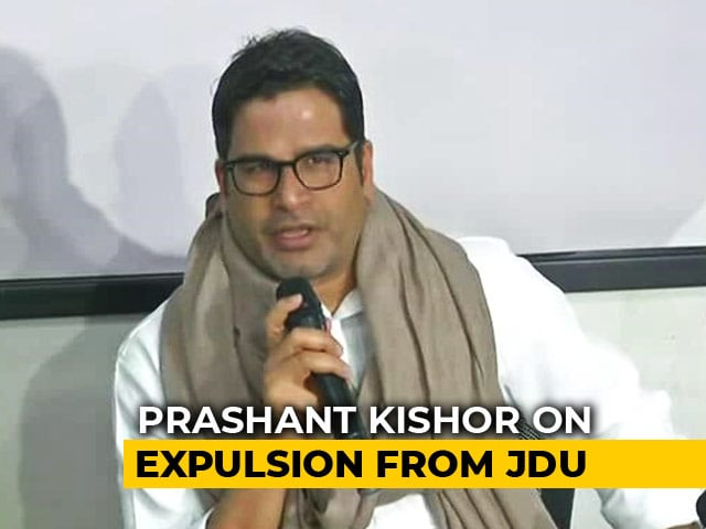 "Video : ""Gandhi, Godse Can't Go Together"": Prashant Kishor Questions Nitish Kumar"