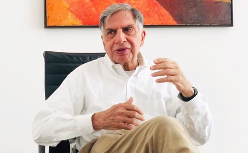 Ratan Tata, Chairman, Tata Trusts says this is one of the toughest challenges we will face as a race