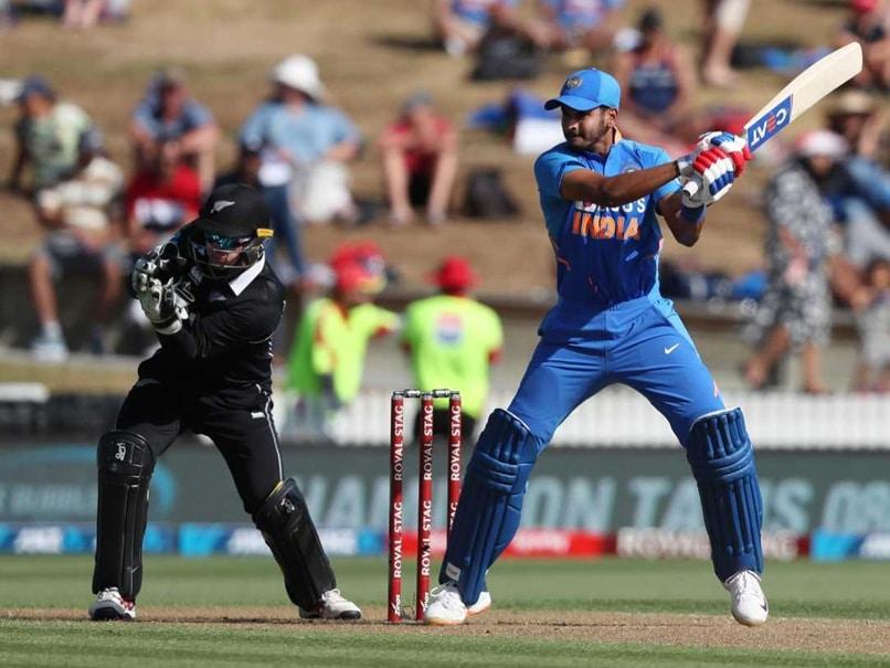 Shreyas Iyer Smashes Maiden Hundred In 1st ODI Against New Zealand