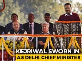 Video: Arvind Kejriwal Takes Oath As Delhi Chief Minister For Third Time