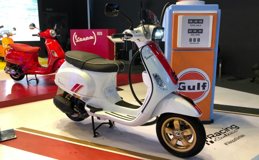 The Piaggio Vespa Racing Sixties will have a limited run of production.