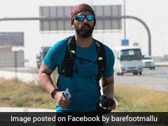 அபுதாபி டூ துபாய்... 118 கிலோ மீட்டர் தூரத்தை 27 மணிநேரத்தில் ஓடிக்கடந்த இந்தியர்!!