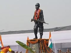 Family, Villagers Build Life-Size Statue Of Jawan Killed In Pulwama Attack