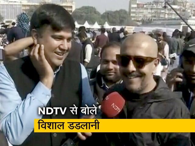 Video : केजरीवाल के शपथ ग्रहण समारोह में पहुंचे विशाल डडलानी, NDTV से की खास बातचीत