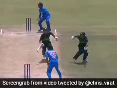 "India vs Pakistan: ""Run-Out Picasso"" Pakistan Add Another To Their List Of Mid-Pitch Disasters"