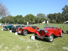 MG Showcases Heritage And Legacy At 21 Gun Salute Rally