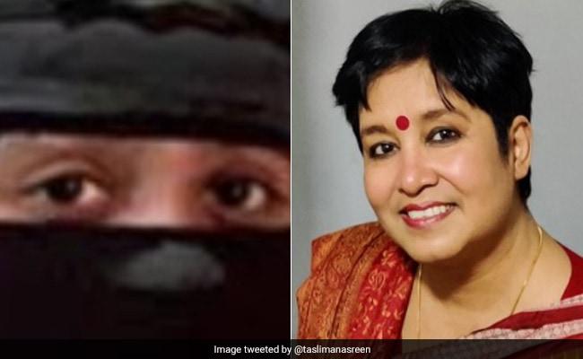 'বোরখা' কাজিয়া: Taslima Nasreen-এর নিশানায় রহমান-কন্যা, কড়া জবাব খতিজার