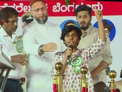 Woman Shouts Pro-Pak Chant At Bengaluru Event, Asaduddin Owaisi Stops Her