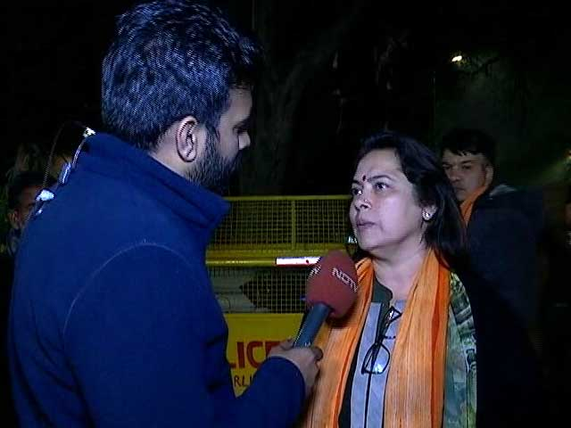 Video : Exit Polls Are Incorrect,  Says BJP's Meenakshi Lekhi