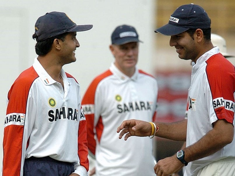 """Please Be Professional"": Yuvraj Singh Trolls Sourav Ganguly On Throwback Photo With Watermark"