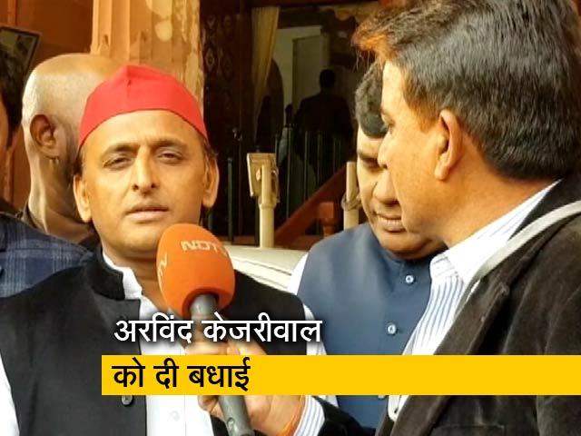 Video : अखिलेश यादव ने CM योगी पर कसा तंज, कहा- हमारे 'मुख्यमंत्री बाबा' गए वहां BJP हार गई