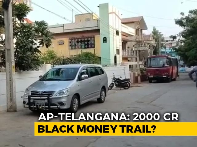 Video : Over Rs 2,000 Crore Uncovered In Income Tax Raids In Andhra, Telangana