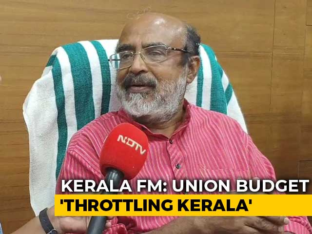 Video : Kerala Finance Minister Thomas Isaac Slams Union Budget