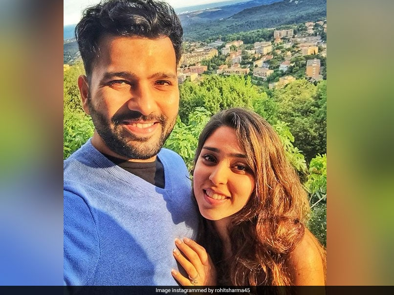 Valentines Day: With An Adroable Instagram Post Rohit Sharma Wishes Wife Ritika Sajdeh