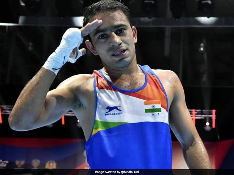 Boxer Amit Panghal qualifies for Tokyo Olympics