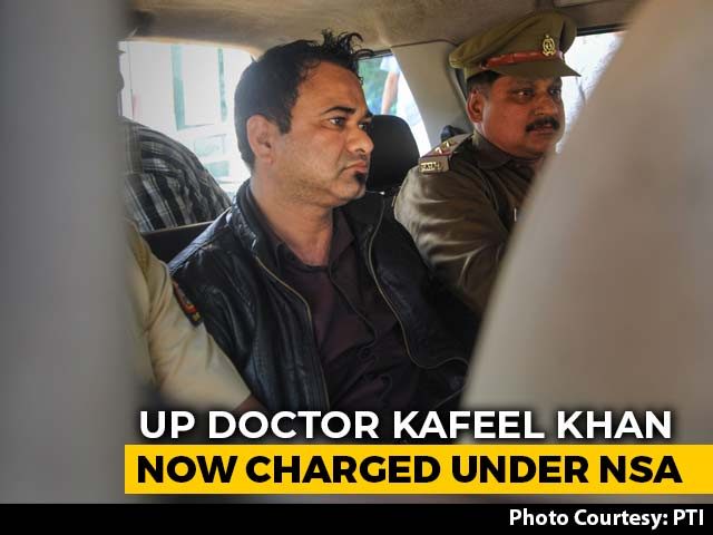 Video : UP Doctor Kafeel Khan Charged Under National Security Act Over CAA Speech