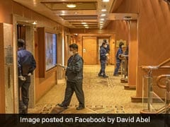 Masked Officials, Empty Corridors: Scenes From A Quarantined Cruise Ship