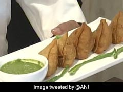 Broccoli Samosa, Khaman, Multi-Grain Rotis On Trumps' Menu In Ahmedabad