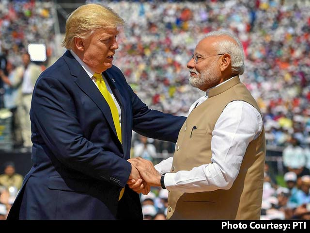 Video : Grand Welcome In Ahmedabad For US President Donald Trump
