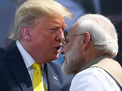 """Everybody Loves Him, But He's Very Tough"": Trump On PM Modi In Ahmedabad"