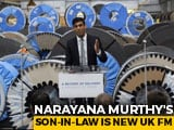 Video : Rishi Sunak, Son-In-Law Of Narayana Murthy, Appointed UK Finance Minister