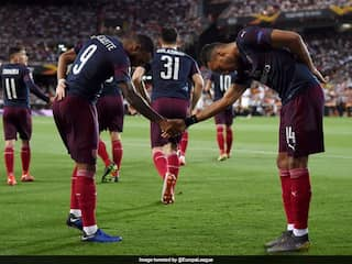 """""""Hes One Of The Best"""": Alexandre Lacazette Wants Arsenal To Keep Pierre-Emerick Aubameyang"""