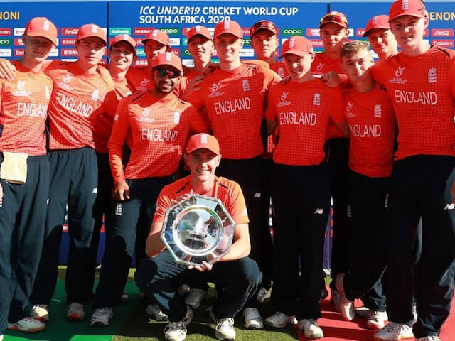 Under-19 World Cup: Dan Mousley Slams Century As England Secure Plate Glory