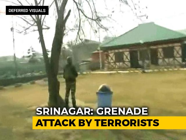 Video : Four Injured In Grenade Attack On Security Personnel In Srinagar
