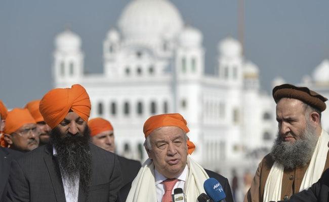 'Best Symbol Of Peace': UN Chief Antonio Guterres At Kartarpur Sahib