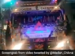 People In Bhopal Gather Around Truck, Ask Driver To Honk Again. Watch Why
