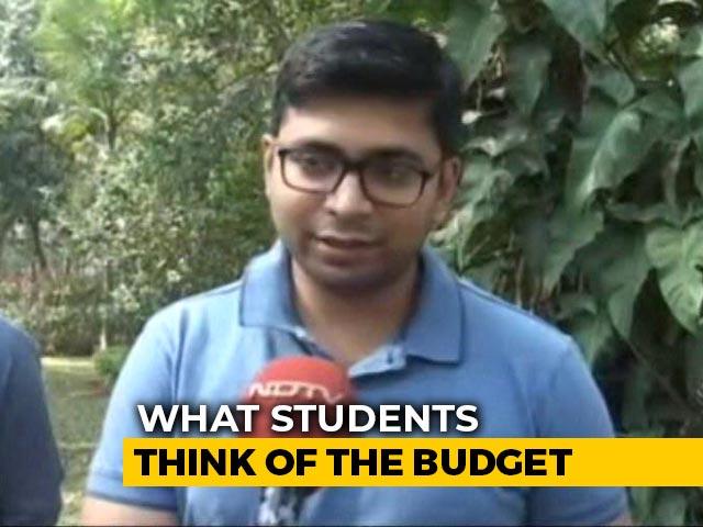 Video : IIM Bangalore Students On Budget 2020