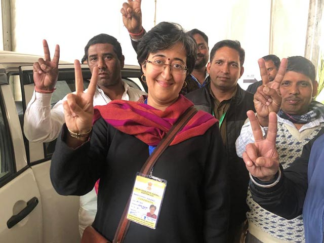 "Video : ""Was Confident That I'll Make Up In Final Rounds"": AAP's Atishi After Big Win In Delhi"