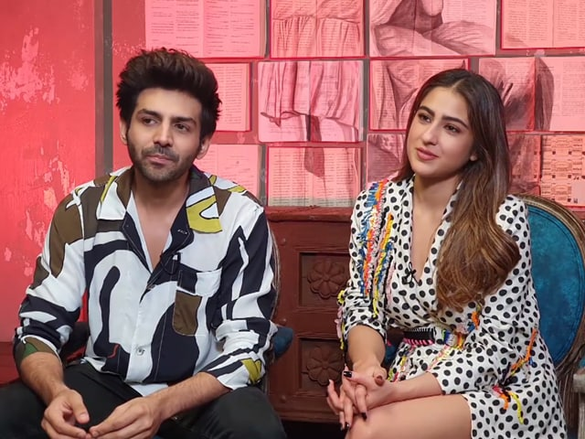 Video : Kartik Was Very Supportive On The Set Of <i>Love Aaj Kal</i>: Sara Ali Khan