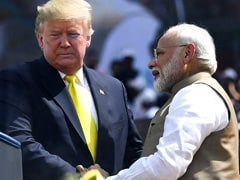 Trumps Get Ceremonial Welcome At Rashtrapati Bhavan