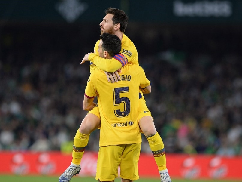 La Liga: Barcelona Beat Real Betis To Keep Pace With Real Madrid