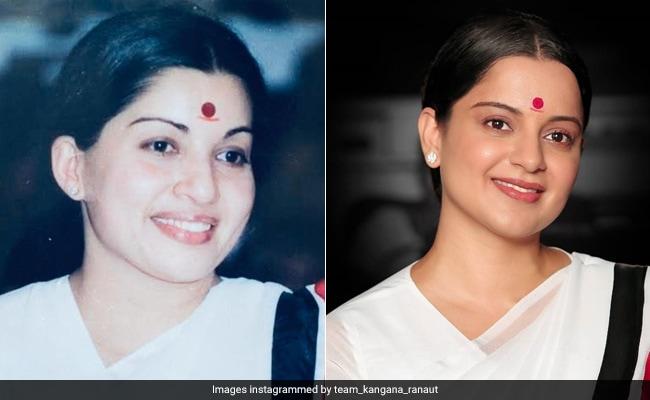 Kangana Ranaut's Transformation Into 'Jaya Amma' For 'Thalaivi' Stuns Twitter
