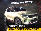 Video : Kia Sonet Subcompact SUV Concept First Look
