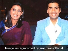 Both Tulsi and Parvati In Smriti Irani's Pic. No Wonder Karan Johar Smiled
