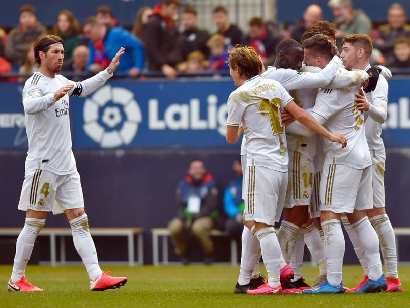 Osasuna vs Real Madrid Real Madrid Come From Behind To Beat Osasuna 4-1 In La Liga