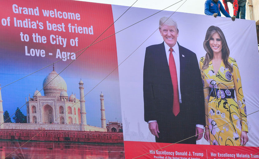 Donald Trump India Visit Updates: India Ready For Potus' Grand Welcome
