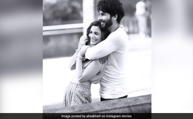 On Shahid Kapoor's Birthday, A Shaandaar Throwback Pic From Alia Bhatt