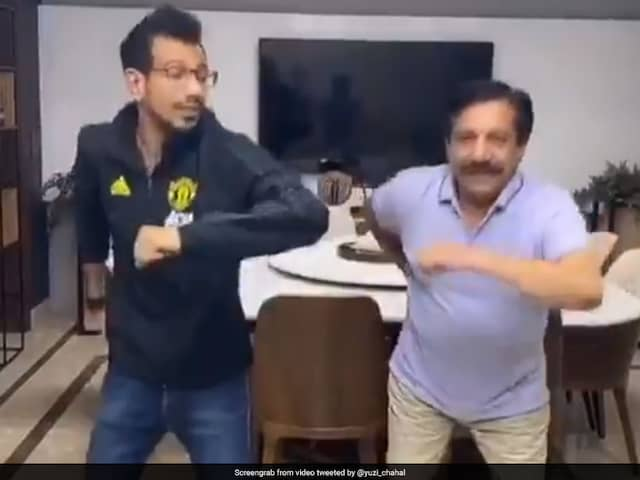"Watch: Yuzvendra Chahals ""First TikTok Video With Dad"" Turns Into Meme Fest"