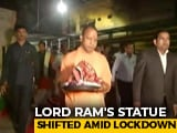 Video : Yogi Adityanath's Temple Run Hours After PM's Appeal To Avoid Gatherings
